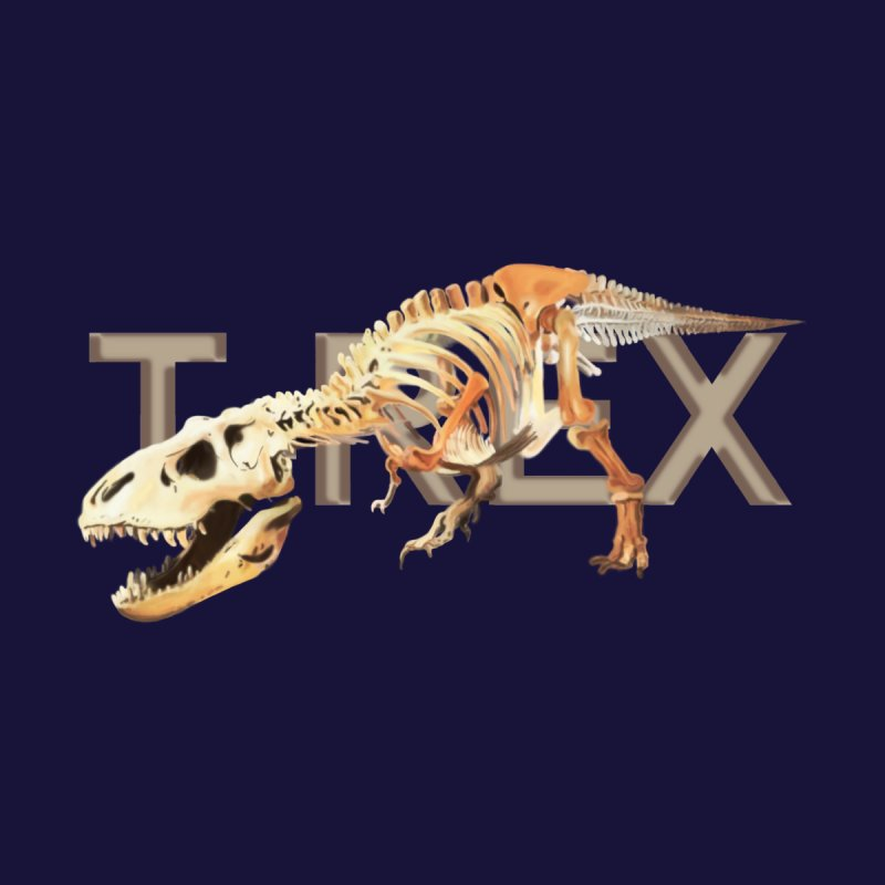 T-Rex Men's T-Shirt by Joan Ninja Hen's Playground