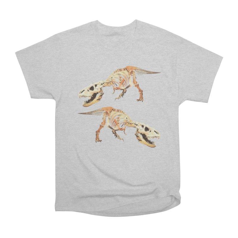 Double T-Rex Men's T-Shirt by Joan Ninja Hen's Playground