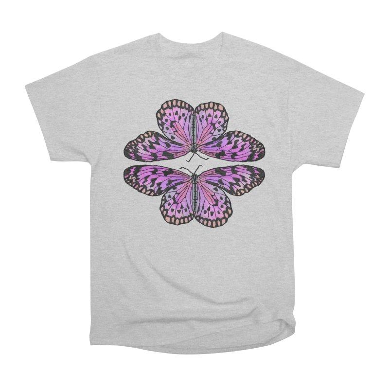 Double Butterfly Men's T-Shirt by Joan Ninja Hen's Playground