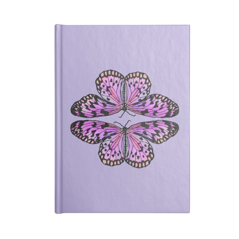 Double Butterfly Accessories Notebook by Joan Ninja Hen's Playground