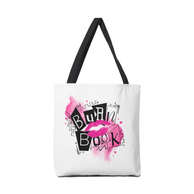 Burn Book Accessories Tote Bag Bag by Jocelyn Tattoo