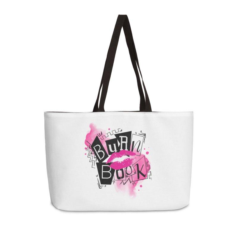 Burn Book Accessories Weekender Bag Bag by Jocelyn Tattoo