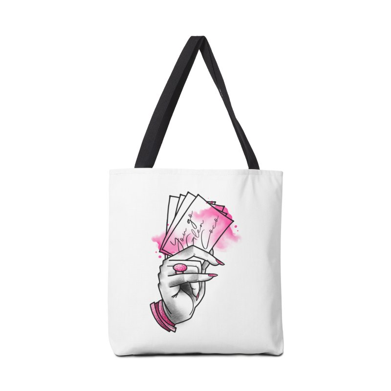 You Go! Accessories Tote Bag Bag by Jocelyn Tattoo