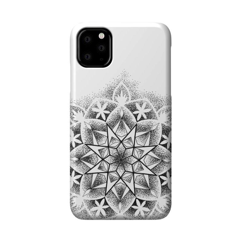 Dotwork Mandala Accessories Phone Case by Jocelyn Tattoo