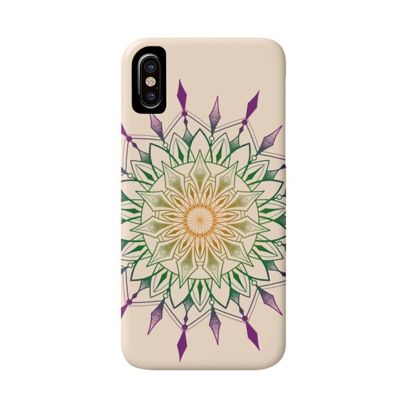 Purple Mandala Accessories Phone Case by Jocelyn Tattoo