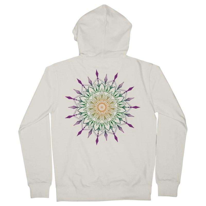 Purple Mandala Women's Zip-Up Hoody by Jocelyn Tattoo