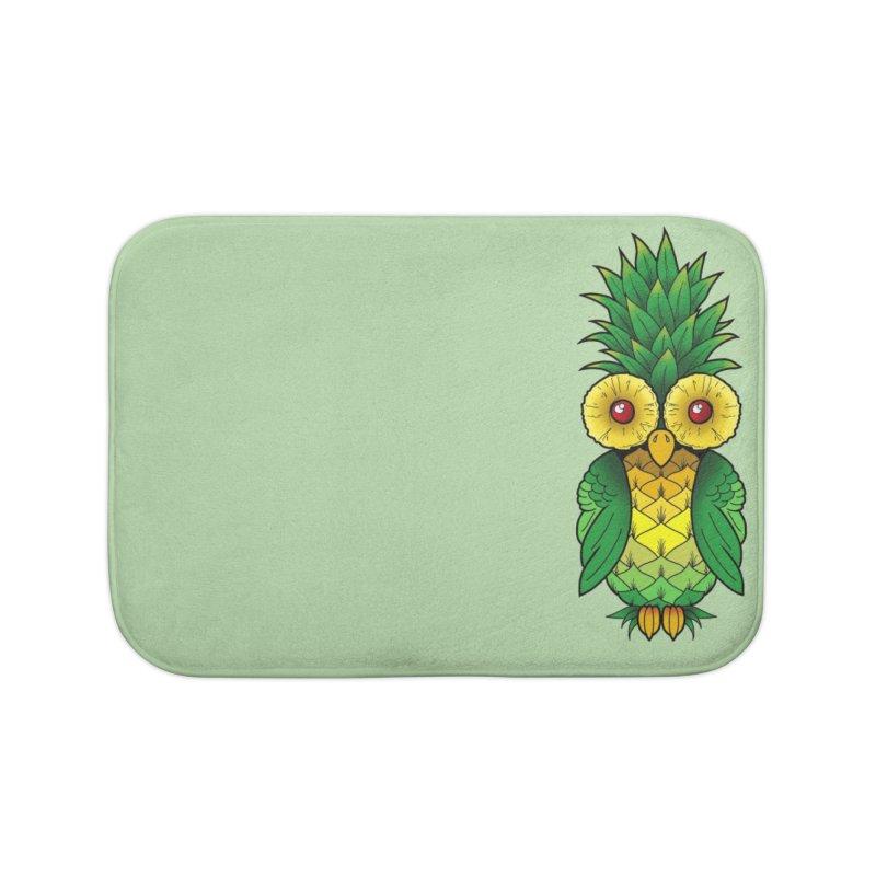 Pineappowl Home Bath Mat by Jocelyn Tattoo