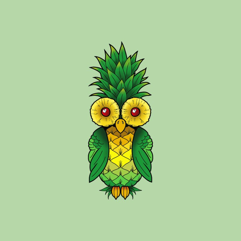 Pineappowl Kids Baby Bodysuit by Jocelyn Tattoo