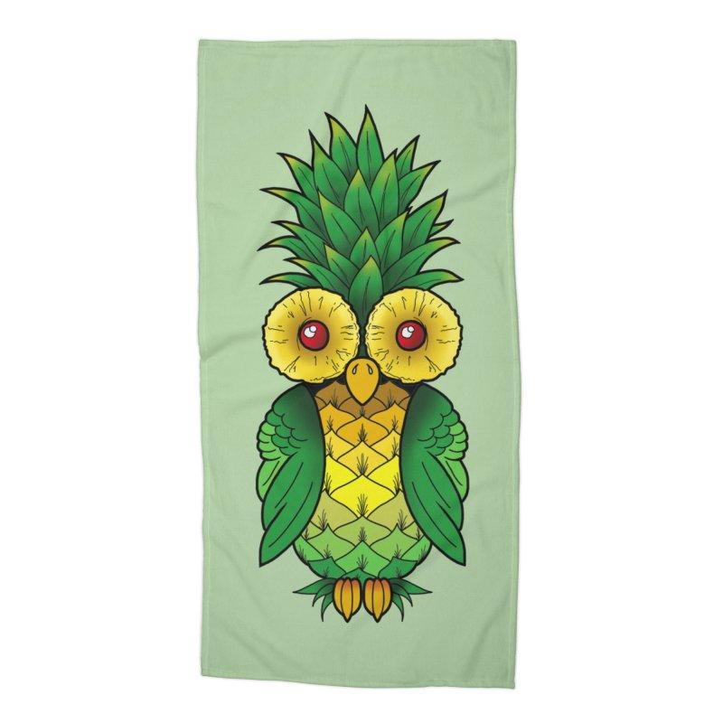 Pineappowl Accessories Beach Towel by Jocelyn Tattoo