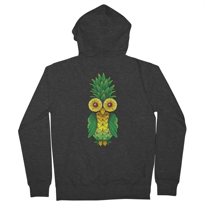 Pineappowl Men's French Terry Zip-Up Hoody by Jocelyn Tattoo