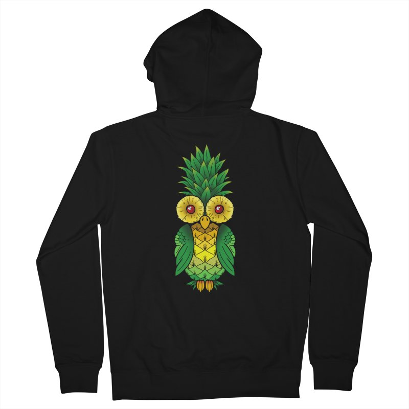 Pineappowl Men's Zip-Up Hoody by Jocelyn Tattoo
