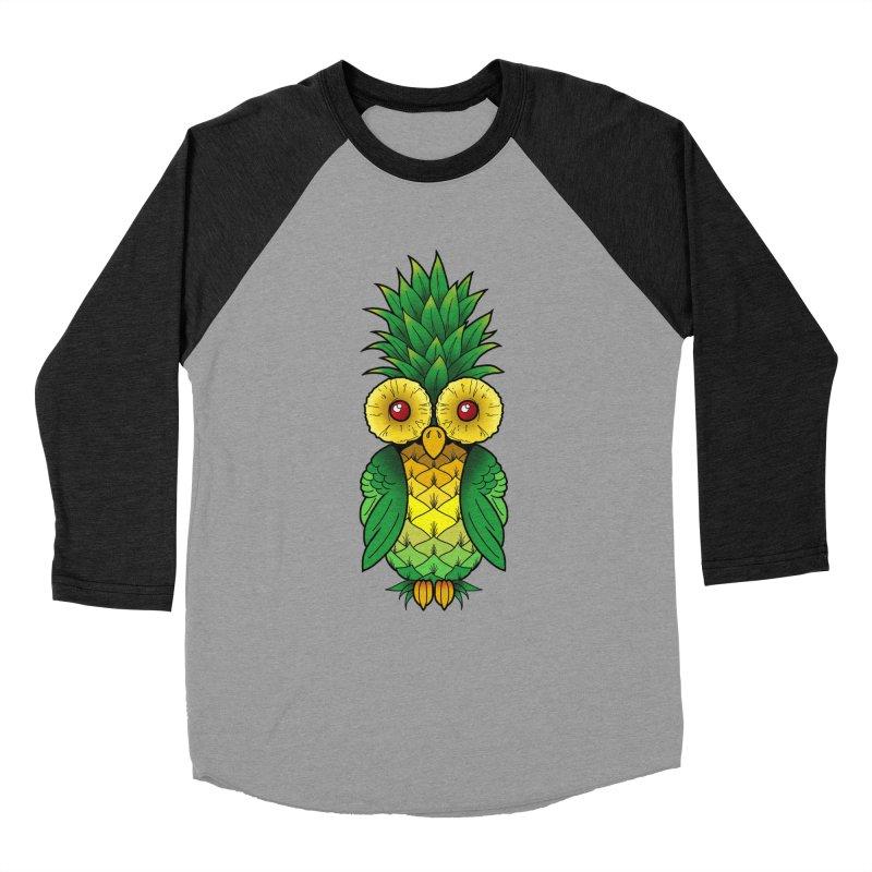 Pineappowl Men's Baseball Triblend Longsleeve T-Shirt by Jocelyn Tattoo