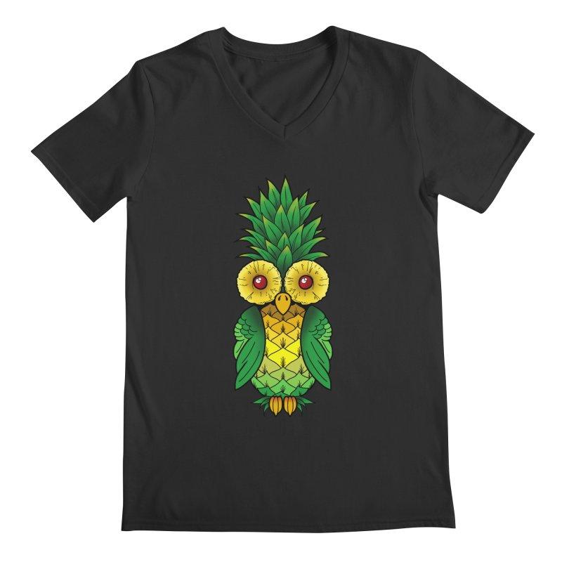 Pineappowl Men's Regular V-Neck by Jocelyn Tattoo