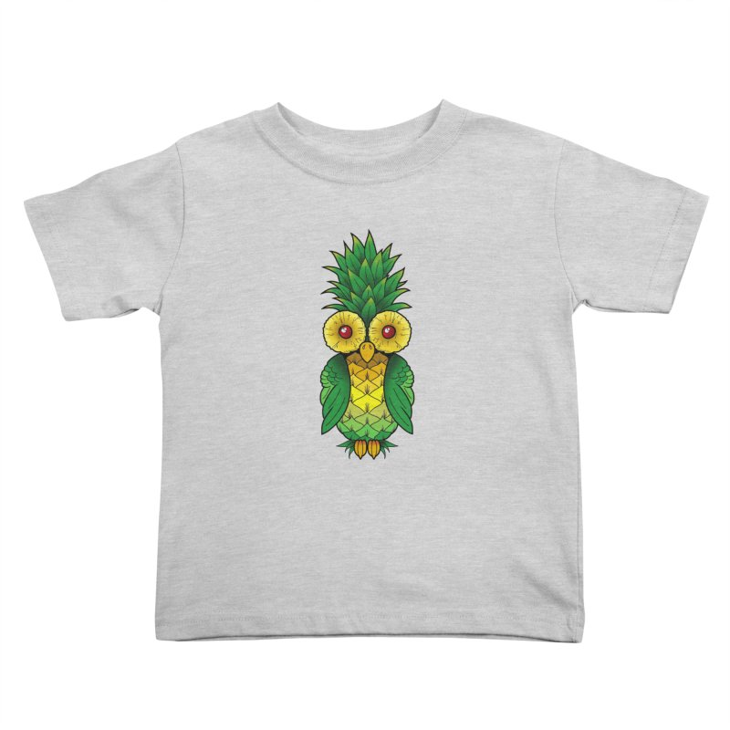 Pineappowl Kids Toddler T-Shirt by Jocelyn Tattoo