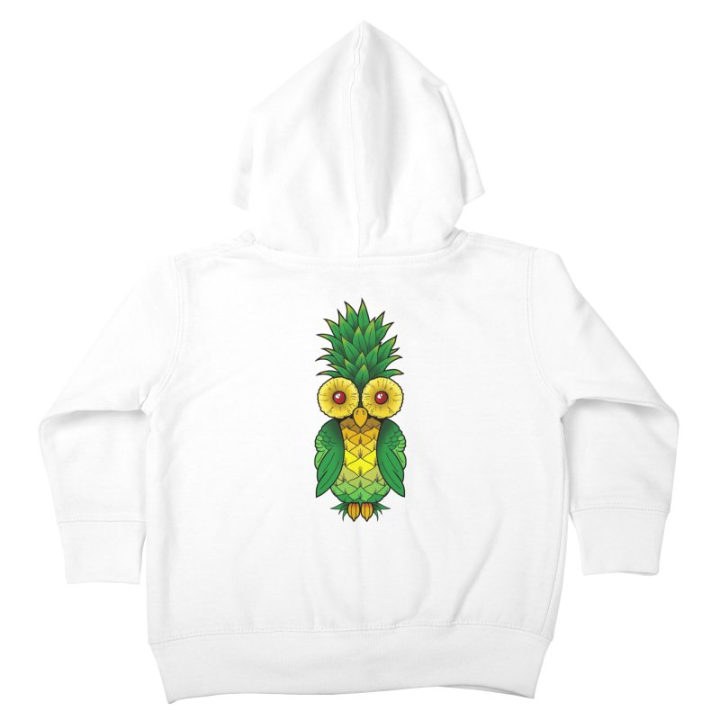 Pineappowl Kids Toddler Zip-Up Hoody by Jocelyn Tattoo