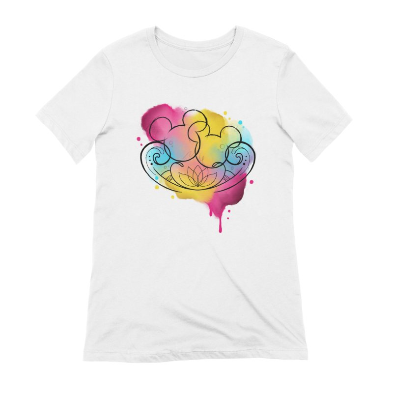 Watercolor Mickey Women's Extra Soft T-Shirt by Jocelyn Tattoo