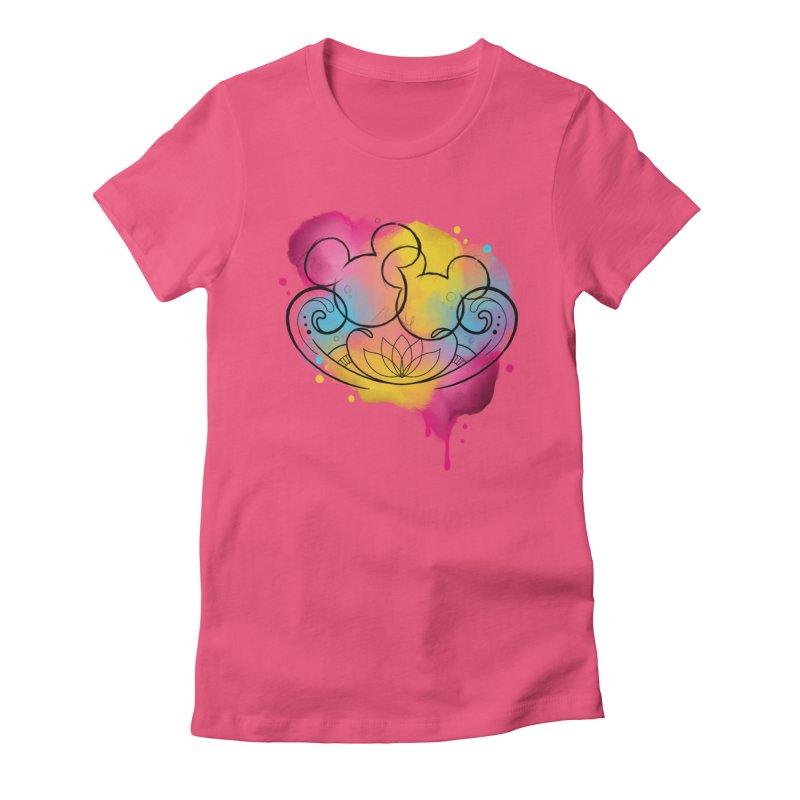 Watercolor Mickey Women's T-Shirt by Jocelyn Tattoo