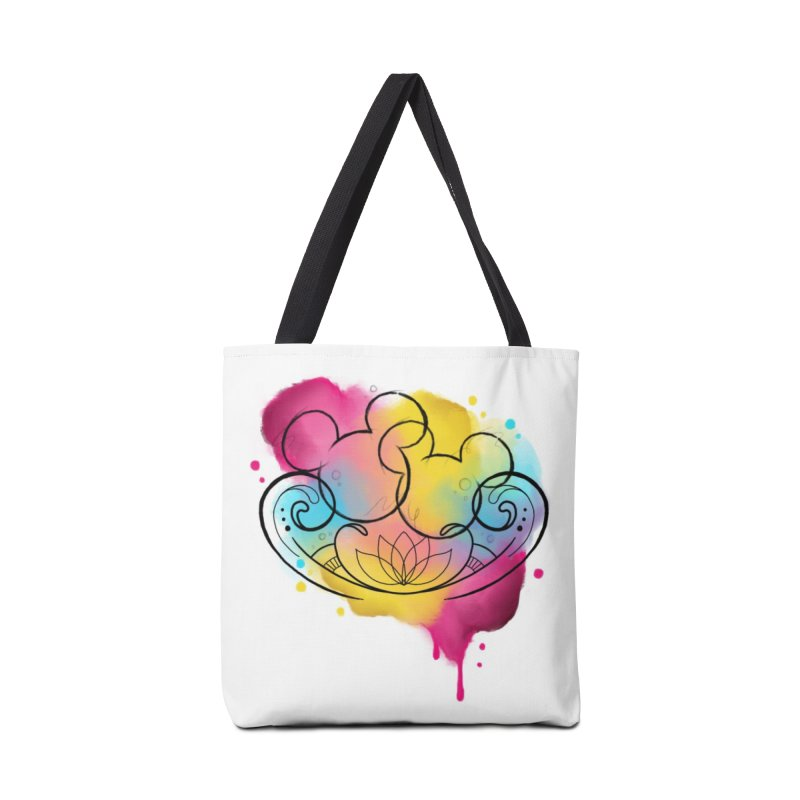 Watercolor Mickey Accessories Tote Bag Bag by Jocelyn Tattoo