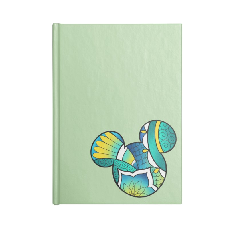Ornamental Mickey Accessories Lined Journal Notebook by Jocelyn Tattoo