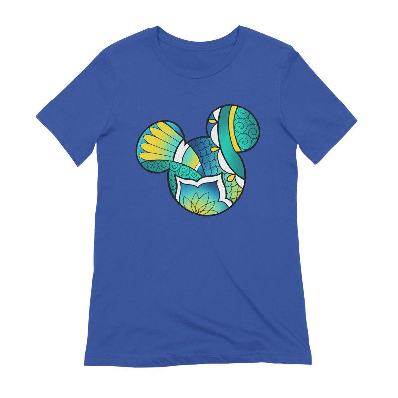 Ornamental Mickey Women's T-Shirt by Jocelyn Tattoo