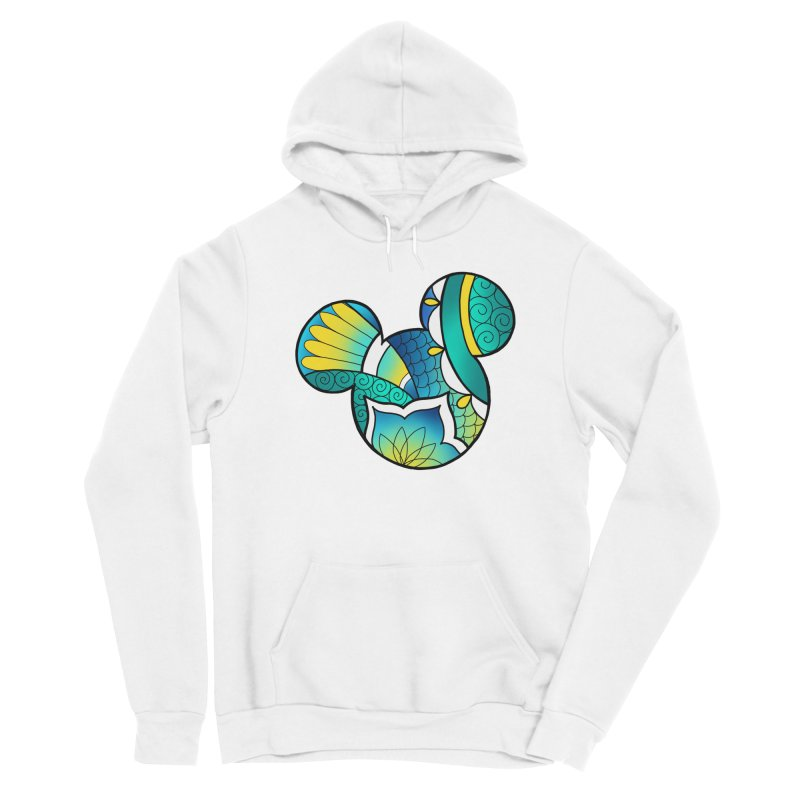Ornamental Mickey Women's Sponge Fleece Pullover Hoody by Jocelyn Tattoo