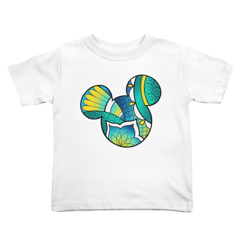 Ornamental Mickey Kids Toddler T-Shirt by Jocelyn Tattoo
