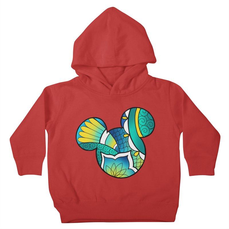 Ornamental Mickey Kids Toddler Pullover Hoody by Jocelyn Tattoo
