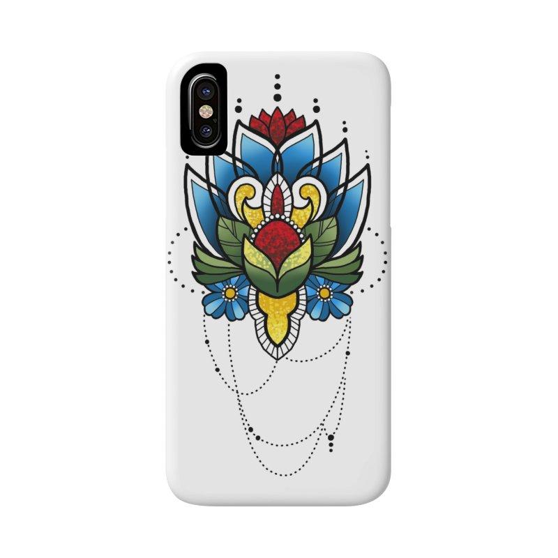 Ornamental Bloom Accessories Phone Case by Jocelyn Tattoo