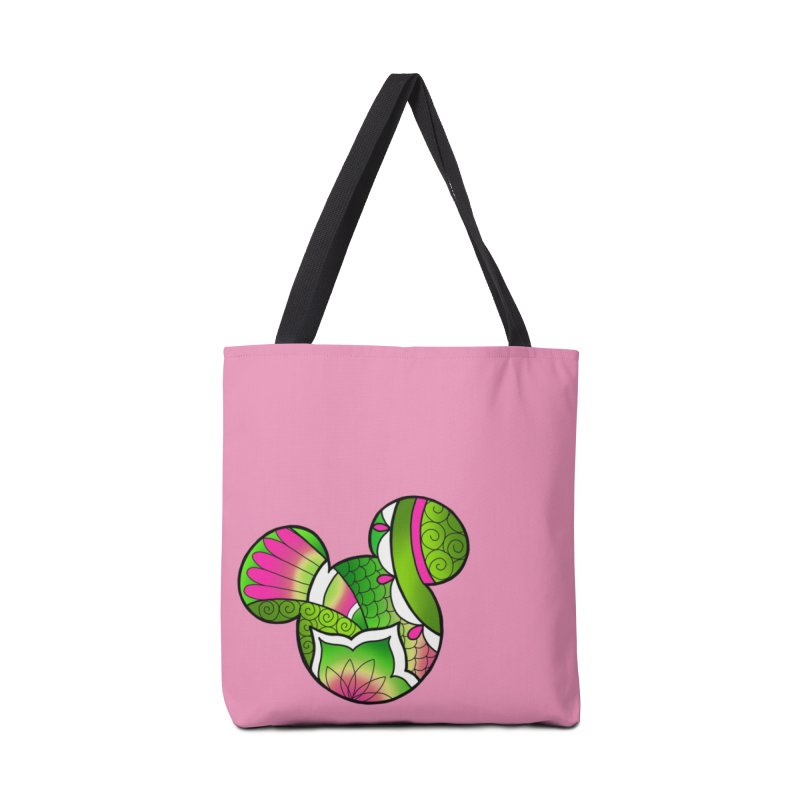 Ornamental Mickey Green Accessories Tote Bag Bag by Jocelyn Tattoo