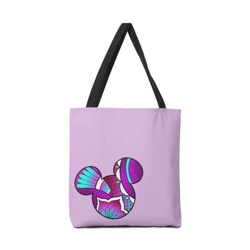 Ornamental Mickey Purple Accessories Tote Bag Bag by Jocelyn Tattoo