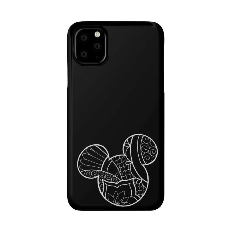 Ornamental Mickey White Accessories Phone Case by Jocelyn Tattoo