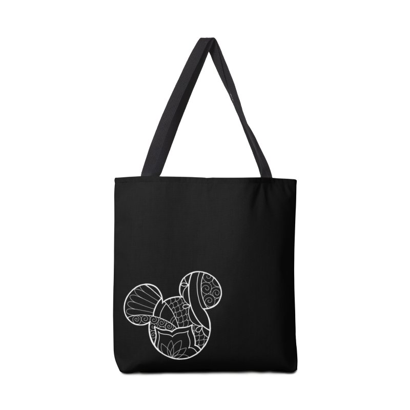 Ornamental Mickey White Accessories Tote Bag Bag by Jocelyn Tattoo