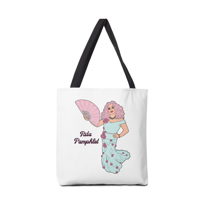 Rita Pamphlet Accessories Tote Bag Bag by Jodilynn Doodles's Artist Shop
