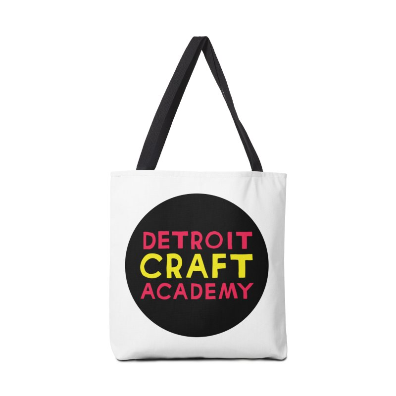 Detroit Craft Academy Accessories Tote Bag Bag by Jodilynn Doodles's Artist Shop