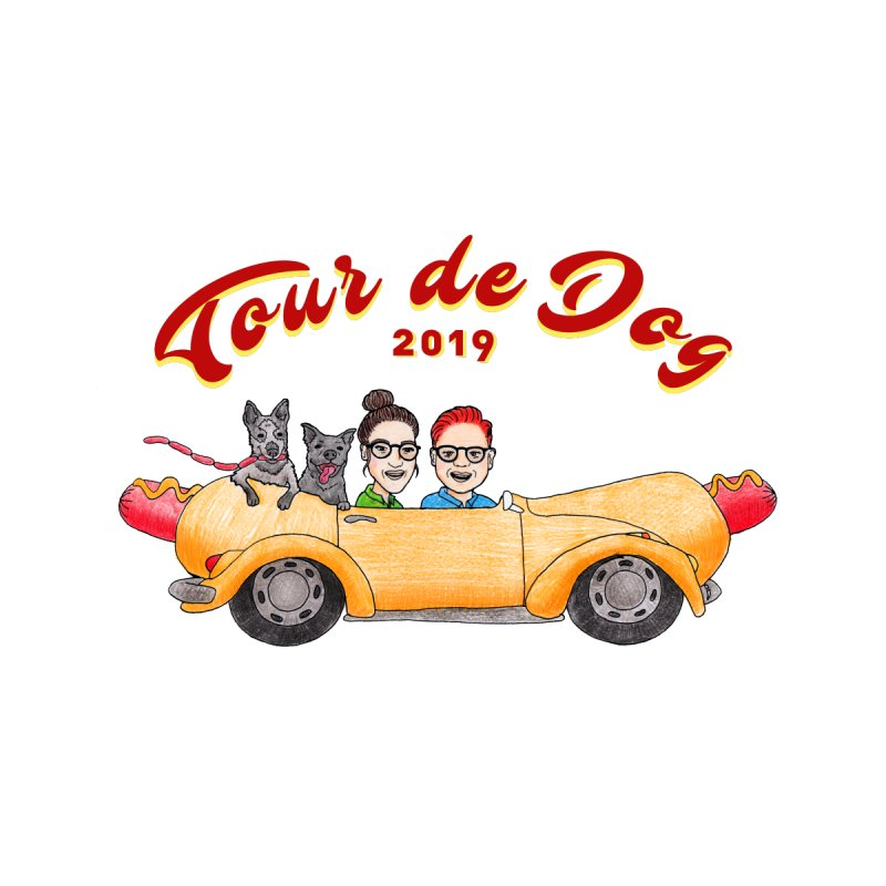 Tour de Dog - 2019 by Jodilynn Doodles's Artist Shop