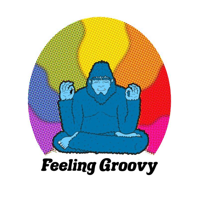big foot feeling groovy by Jodilynn Doodles's Artist Shop