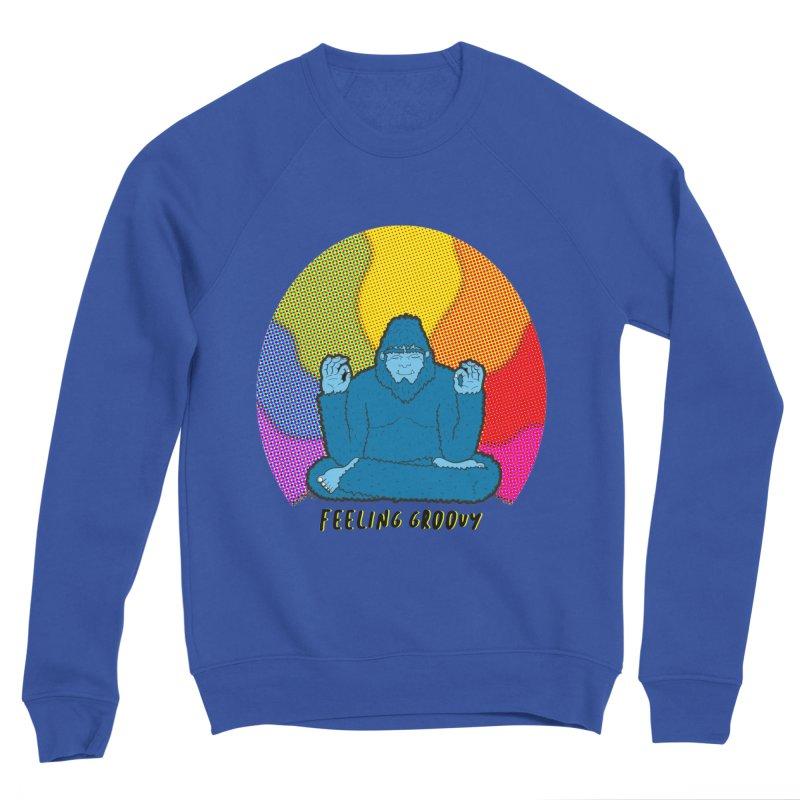 big foot feeling groovy Women's Sponge Fleece Sweatshirt by Jodilynn Doodles's Artist Shop