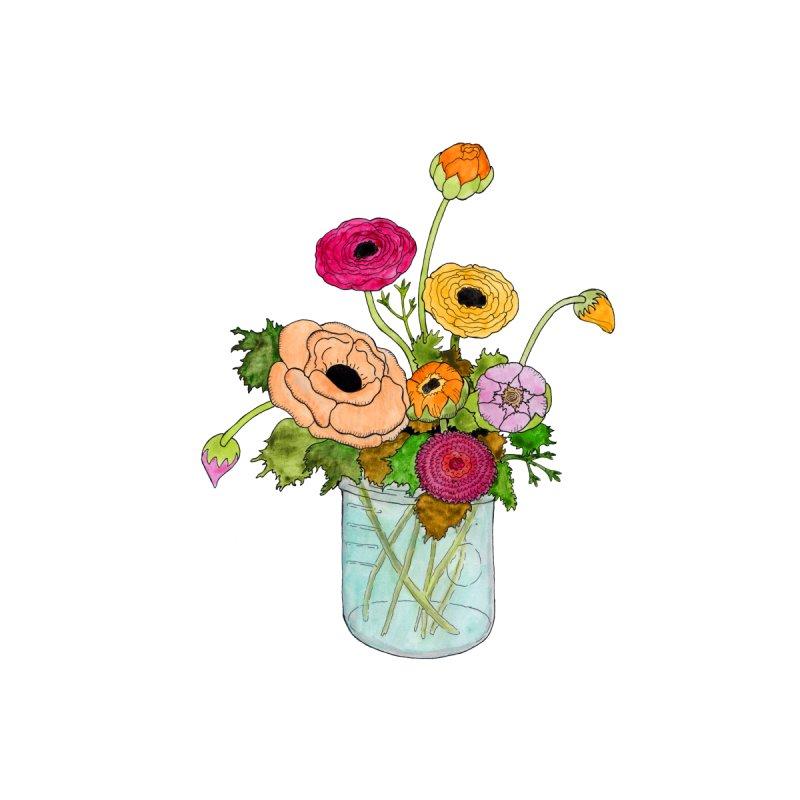 Ranunculus Flowers by Jodilynn Doodles's Artist Shop