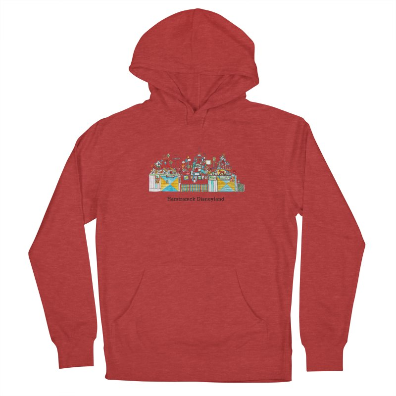 Hamtramck Disneyland Men's French Terry Pullover Hoody by Jodilynn Doodles's Artist Shop