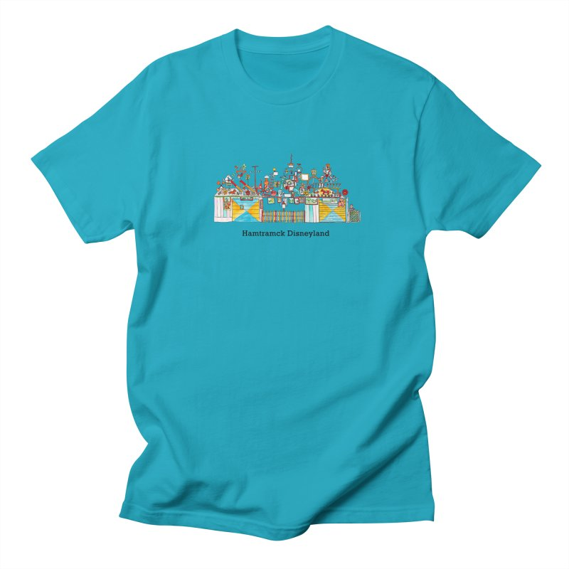 Hamtramck Disneyland Women's Regular Unisex T-Shirt by Jodilynn Doodles's Artist Shop
