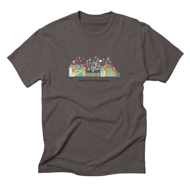 Hamtramck Disneyland Men's Triblend T-Shirt by Jodilynn Doodles's Artist Shop