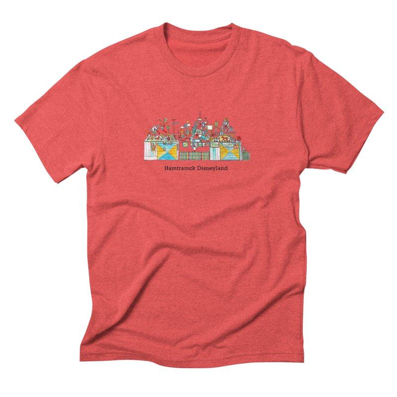 Hamtramck Disneyland Men's Triblend T-Shirt by jodilynndoodles's Artist Shop