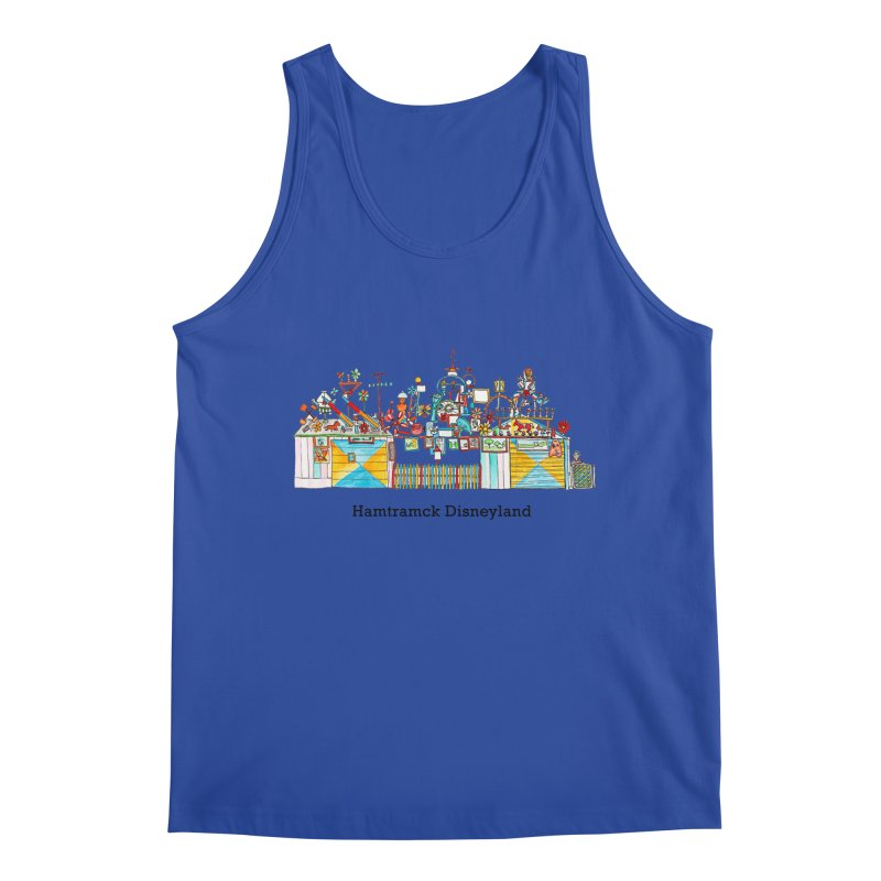 Hamtramck Disneyland Men's Regular Tank by Jodilynn Doodles's Artist Shop