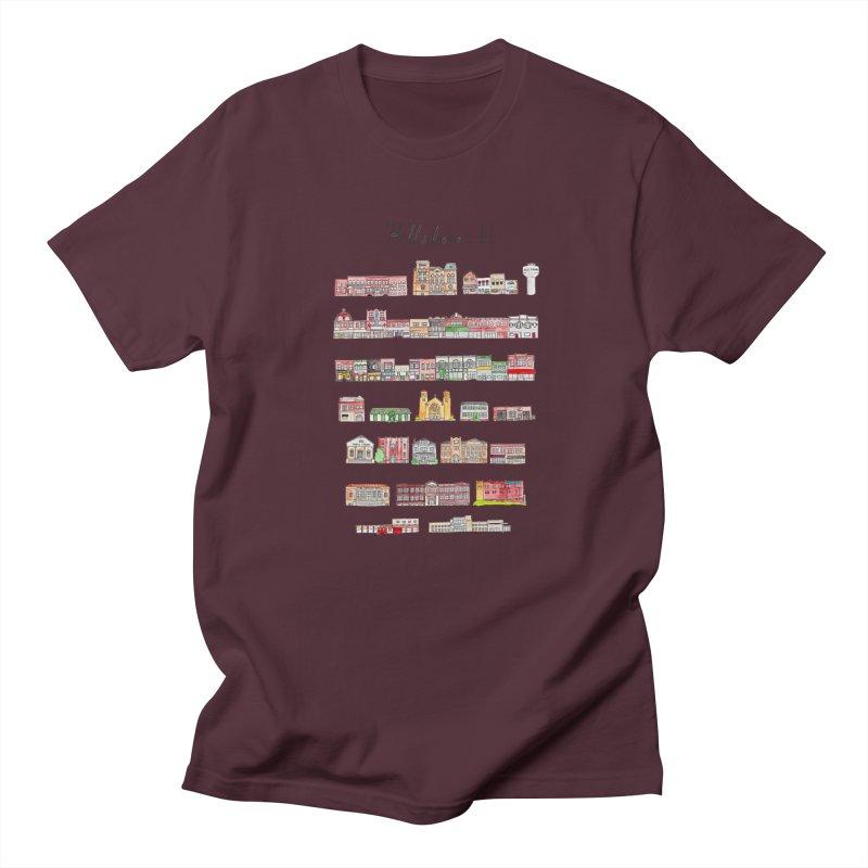 Hillsboro Illinois Women's Regular Unisex T-Shirt by Jodilynn Doodles's Artist Shop