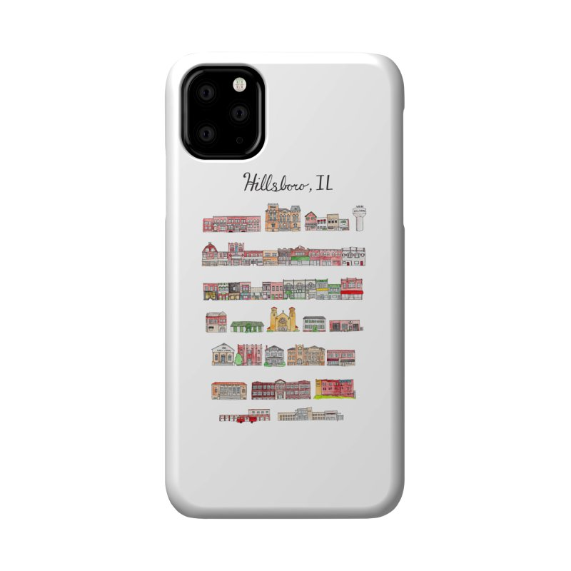 Hillsboro Illinois Accessories Phone Case by Jodilynn Doodles's Artist Shop