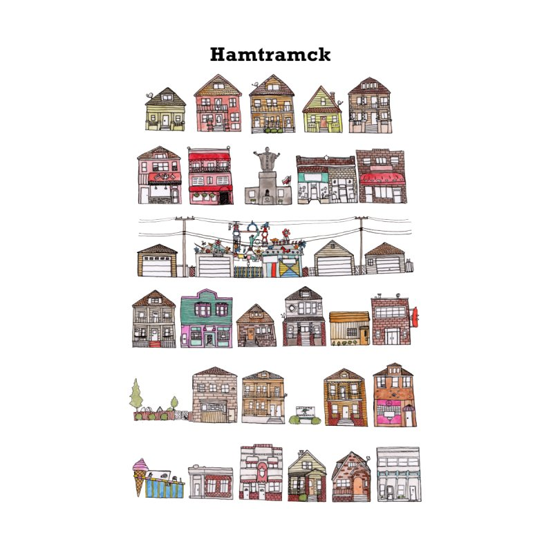 City of Hamtramck by jodilynndoodles's Artist Shop
