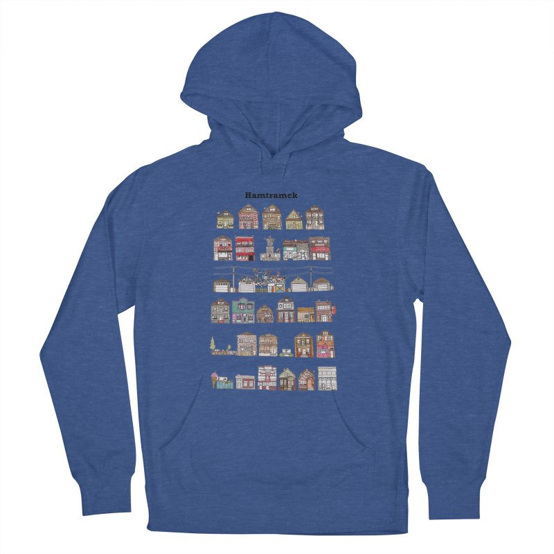 City of Hamtramck Men's French Terry Pullover Hoody by Jodilynn Doodles's Artist Shop