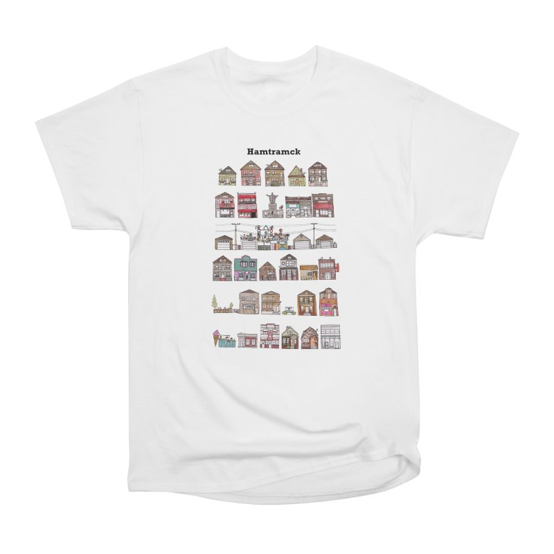 City of Hamtramck Men's Heavyweight T-Shirt by jodilynndoodles's Artist Shop