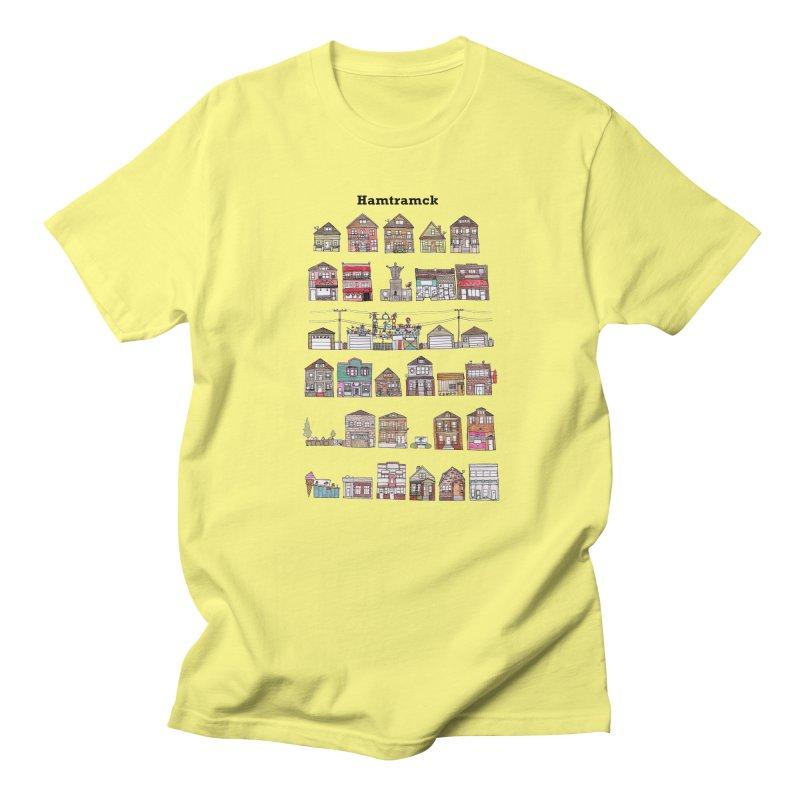 City of Hamtramck Men's Regular T-Shirt by Jodilynn Doodles's Artist Shop