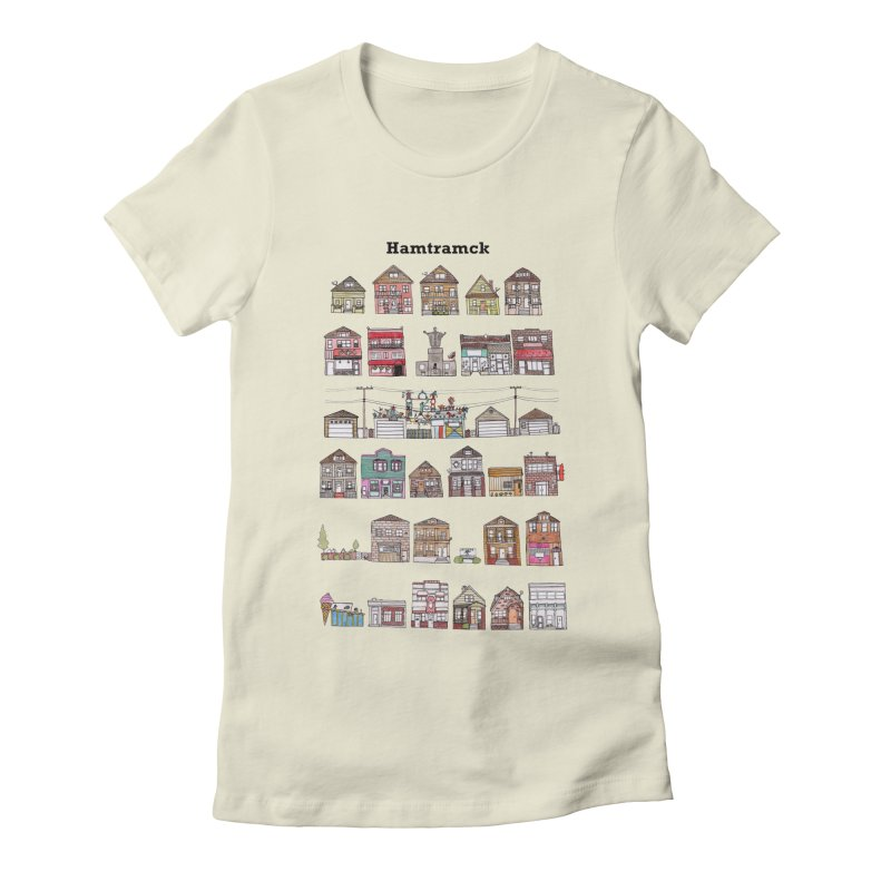 City of Hamtramck Women's Fitted T-Shirt by jodilynndoodles's Artist Shop